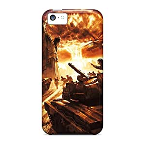 Fashion Cases For Iphone 5c- Soviet Invasion Defender Cases Covers