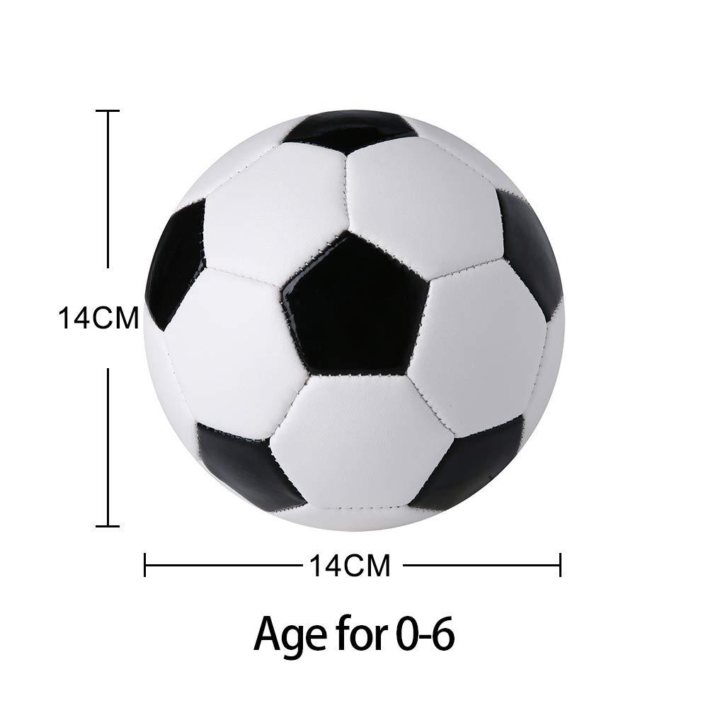YANYODO Mini fútbol para niños, fútbol pequeño tamaño 1.5: Amazon ...