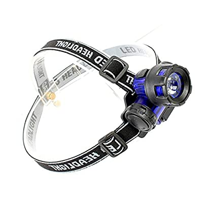 LED Headlamp Flashlight for Emergency Camping and Kids