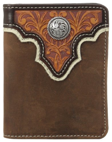Ariat Mens Concho Overlay Bifold