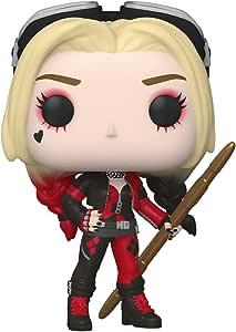 Funko Pop Movies: The Suicide Squad Harley Quinn Bodysuit, Action Figures 56015, Multicolor