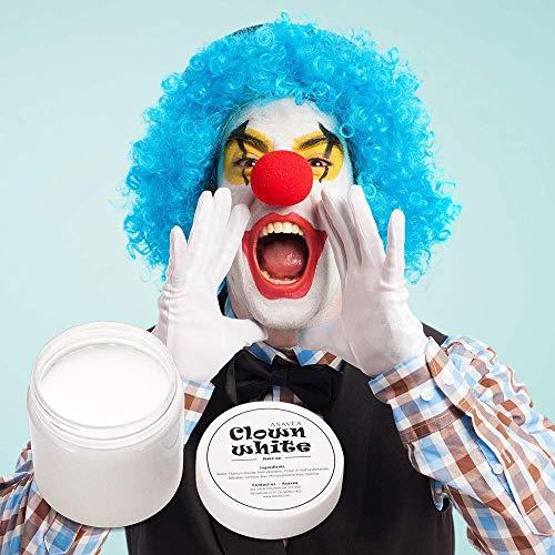 Clown White Makeup Face Paint (Clown Face Paint)