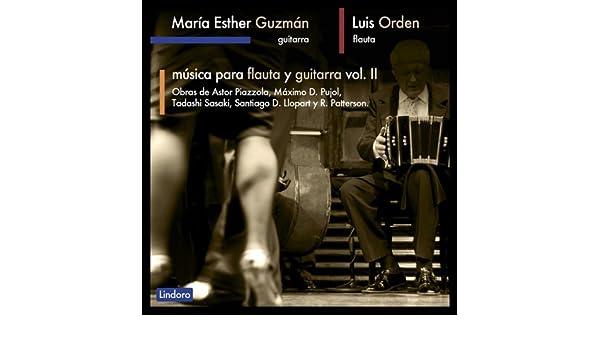 Música para Flauta y Guitarra Vol. 2 de María Esther Guzmán & Luis ...
