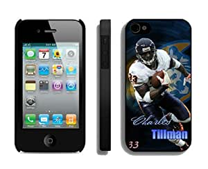 NFL Chicago Bears Charles Tillman iPhone 4 4S Case Gift Holiday Christmas Gifts cell phone cases clear phone cases protectivefashion cell phone cases HLNKY604582610