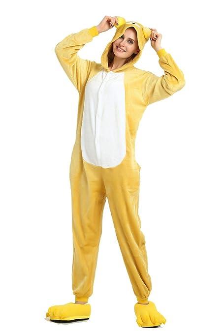 fresh styles cost charm nice cheap Combinaison d'hiver Chaude en Flanelle Pyjama Unisexe pour Adulte One Piece  Mignon Ours Pyjama