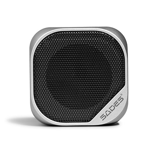 SADES Wireless Bluetooth Speaker with Built-in Mic for iPhone/iPad/Smart Phone/Laptops
