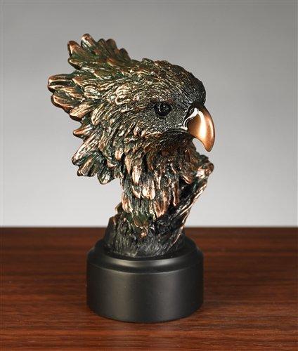 Elegant Eagle Head Statue - Bust - Head Figurine Eagle