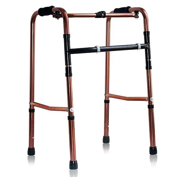 LXS Andador Plegable Ajustable, Ligero, de Aluminio médico ...