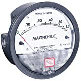 Dwyer 2005 Magnehelic Differential Pressure Gauge, Type, 0 to 5