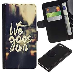All Phone Most Case / Oferta Especial Cáscara Funda de cuero Monedero Cubierta de proteccion Caso / Wallet Case for Apple Iphone 6 // Life Goes On Vintage Vignette Taxi Cab