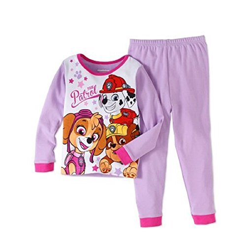 - AME PAW Patrol Baby Toddler Girls 2 Piece Purple Long Sleeve Sleepwear Set 12 Months
