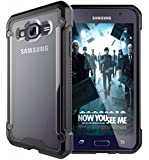 Kapa Beetle Shock Proof Frosted Back Case Cover for Samsung Galaxy J5 - 6 (2016 Version) - Black