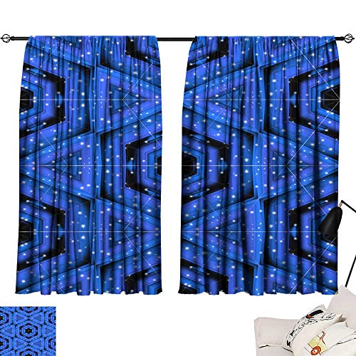 Tankcsard Tie Up Printed Blackout Curtain Abstract Colorful Wallpaper Texture background14 54