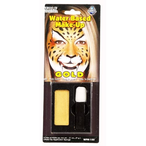 Gold Water Based Make-Up -