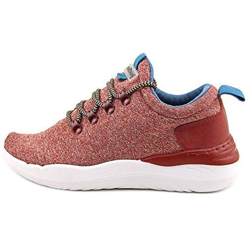 Coolway Mujeres Drake Fashion Platform Sneaker Wedges Bur