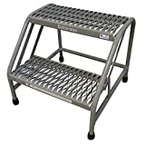 Step Stand, 20 In H, 500 lb., Steel by Cotterman