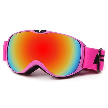 Arredamento e forniture scuola prima infanzia Giochi d'imitazione Yxx max Occhiali da Sole Sportivi Occhiali da Sci Outdoor Occhiali Anti-Nebbia a Doppio Strato per Sci Occhiali di Protezione UV Occhiali da Neve