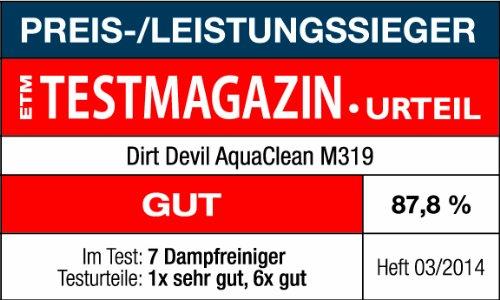 1500 W Azul 1 Liter Blanco Dirt AquaClean Aspiradora de vapor universal