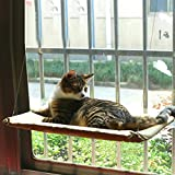 QYDSHDBQWICat Hammock/Window Type cat Bed/Sun seat/Load-Bearing 50LB