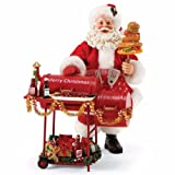 Department 56 Possible Dreams Santa Claus 'Smokin' Hot' Clothtique Figurine, 11'