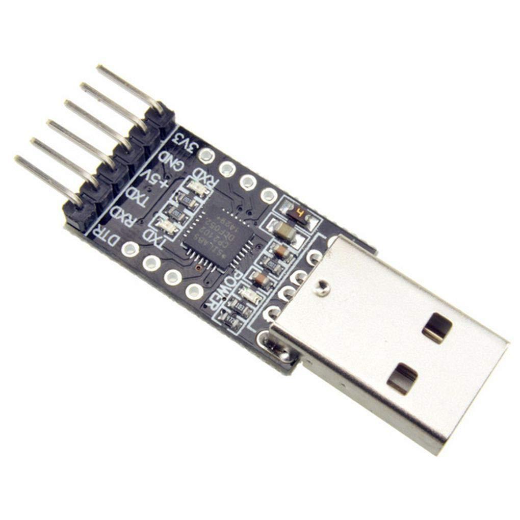 Topker CP2102 USB 2.0 a TTL UART Mó dulo 6 Clavijas de Serie del convertidor STC Reemplazar FT232 Mó dulo