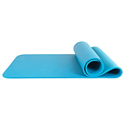 Amazon.com : Yoga mats Beginners mats Thickened Widened ...