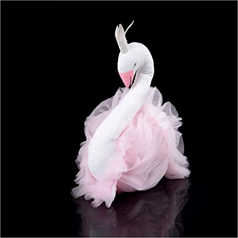 TheTickleToe Baby Kids Room Nursery Decor Wall Hanging Animal Face Birthday Gift Pink Swan 1 Piece