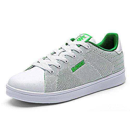 Herren Atmungsaktiv Sportschuhe Freizeitschuhe Laufschuhe Ausbilder Lässige Schuhe Licht Gemütlich EUR GRÖSSE 39-44