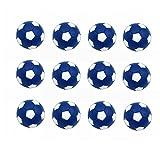 SUNREEK Table Soccer Foosballs Replacements Mini Black and White Soccer Balls for Tornado, Dynamo or Shelti Tables - Set of 12