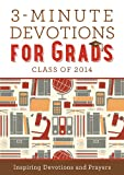 3-Minute Devotions for Grads, Barbour Publishing, Inc. Staff, 1624168639