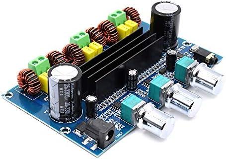MADONG Bluetooth Conseil amplificateur de Puissance numérique 5.0 Audio stéréo TPA3116D2 50WX2 + 100W 2.1 canaux Subwoofer AMP Module