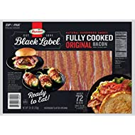 Hormel Black Label Fully Cooked Bacon (72 Slices (2 pack))
