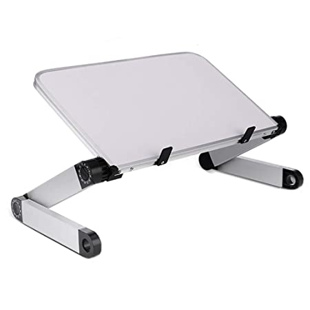 De pie Oficina de Escritorio de Aluminio aumentó portátil Mesa ...