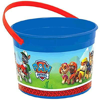12X Paw Patrol Pack of 12 Favor Container Buckets