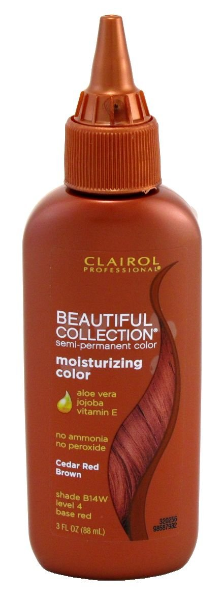 Discount Clairol Beautiful Collection #B014W Cedar-Red Brown 3 oz. (3-Pack) with Free Nail File hot sale