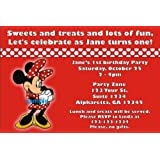 amazon com minnie mouse invitations cards party supplies