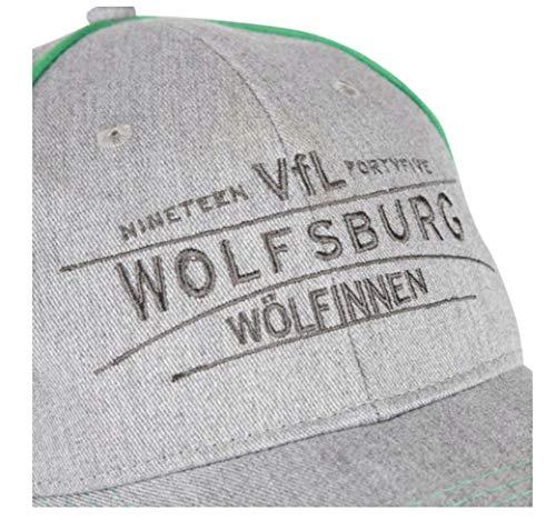 Gris Gorra VfL Wolfsburg Talla única de Gris para béisbol Hombre CRq6wqU