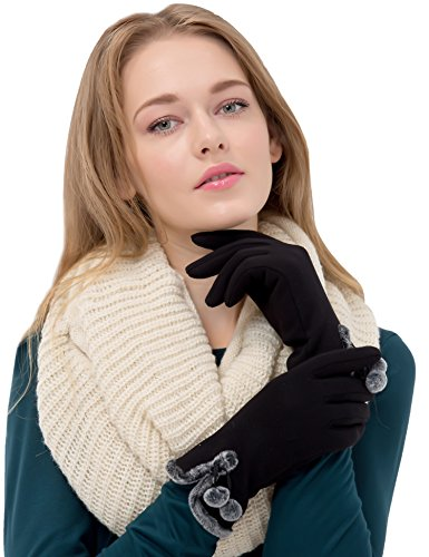 Touch Screen Gloves Women Lined ...