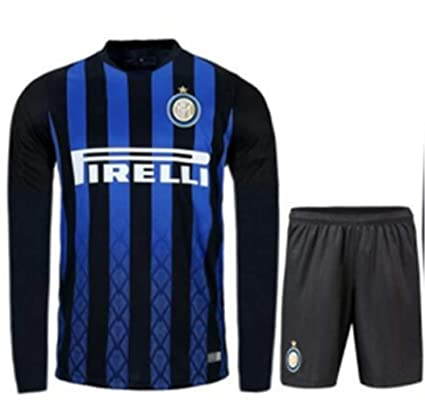 premium selection be5dd 77619 Amazon.com : ZZXYSY Inter Milan Men's Home Soccer Long ...