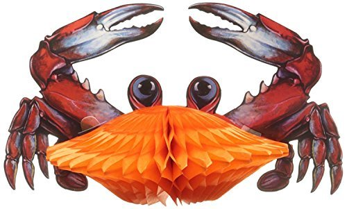 Tissue Crab Party Accessory (3-Pack) -