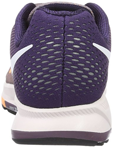 NIKE Turnschuhe Damen Smoke White Purple Viola Dynasty 33 Zoom Pegasus Air WMNS Purple R1rAqR