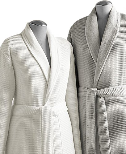 Kassatex Waffle Terry Bathrobe Collection 6f57da906