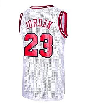 6740b2597d Runvian Camiseta de Baloncesto para Hombre, NBA Michael Jordan, Chicago #  23 Bulls Retro