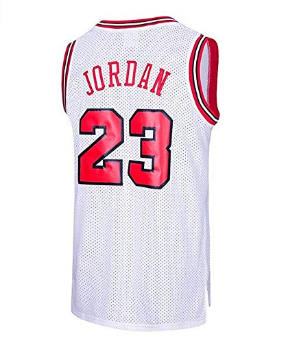 Maglia da Uomo, NBA Michael Jordan, N ° 26 Chicago Lakers Retro, Maglia da Giocatore di Basket Vintage, Ricamo Traspirante e Resistente all\'Usura, T-Shirt da Uomo e da Uomo