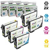 LD Products Remanufactured Ink Cartridge Replacement for Epson T200XL ( Black,Cyan,Magenta,Yellow , 5-pack )
