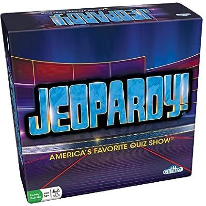 Amazon.com: Juego de mesa de Jeopardy. Juego de fiesta de ...