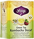 Yogi Green Kombucha Decaf Tea (3x16 Bag) by YOGI