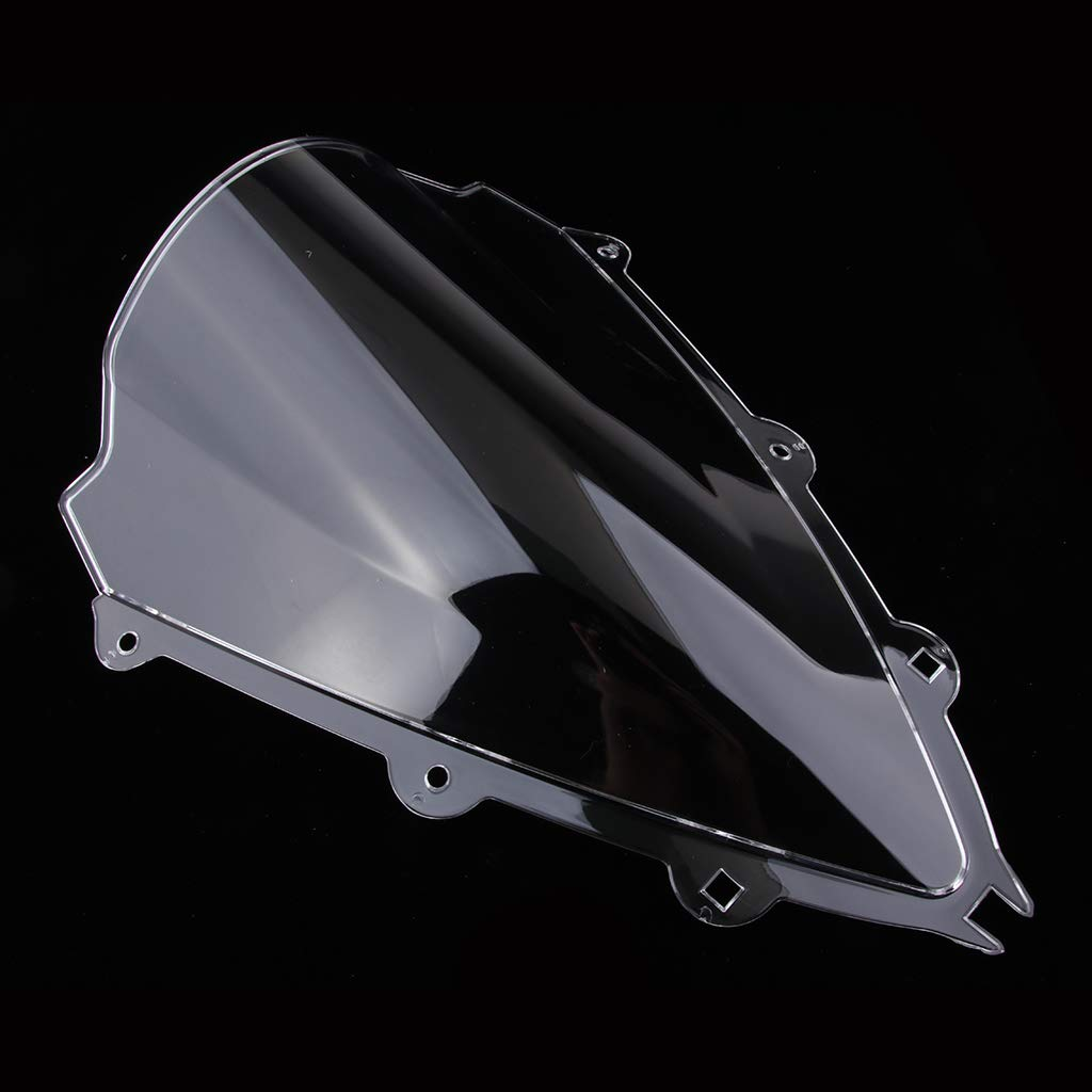 perfk Motorcycle Front Windshield Windscreen For Aprilia RSV4 2009-2014 Clear