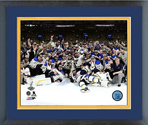 (St. Louis Blues 2019 Stanley Cup Champions Team Celebration Photo (Size: 18