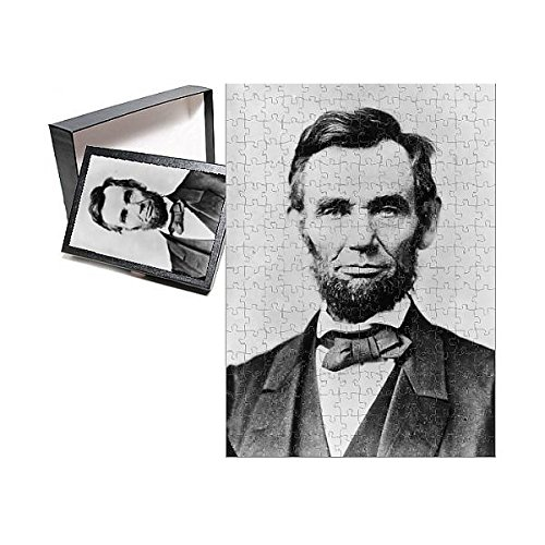 252 Piece Puzzle of Abraham Lincoln (14761428) - Abraham Lincoln Puzzles
